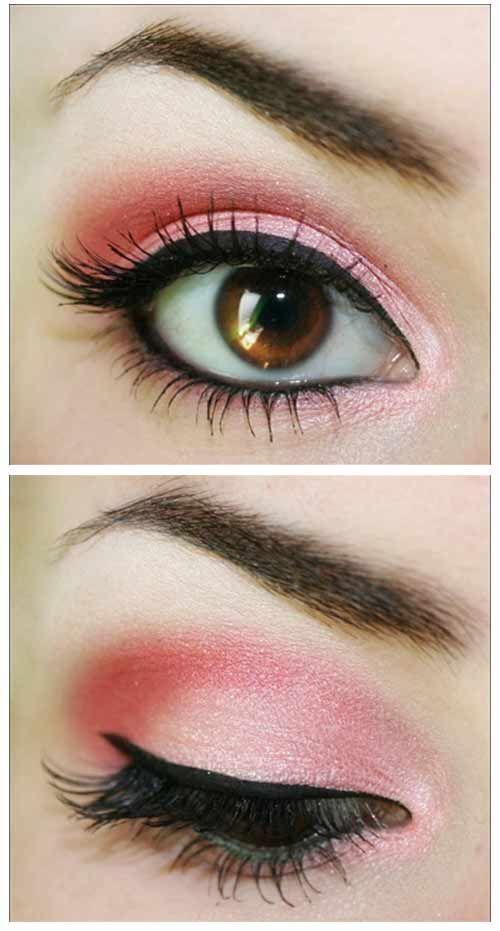 Amazing Pink Eye Makeup