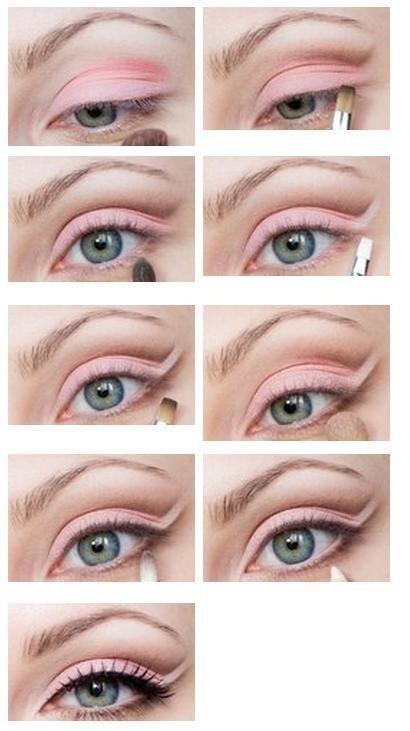 Pretty Pink Eye Makeup Tutorial