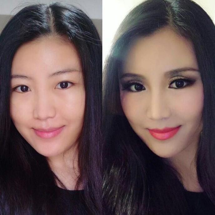 La transformation de greta_culture_studies_n_makeup