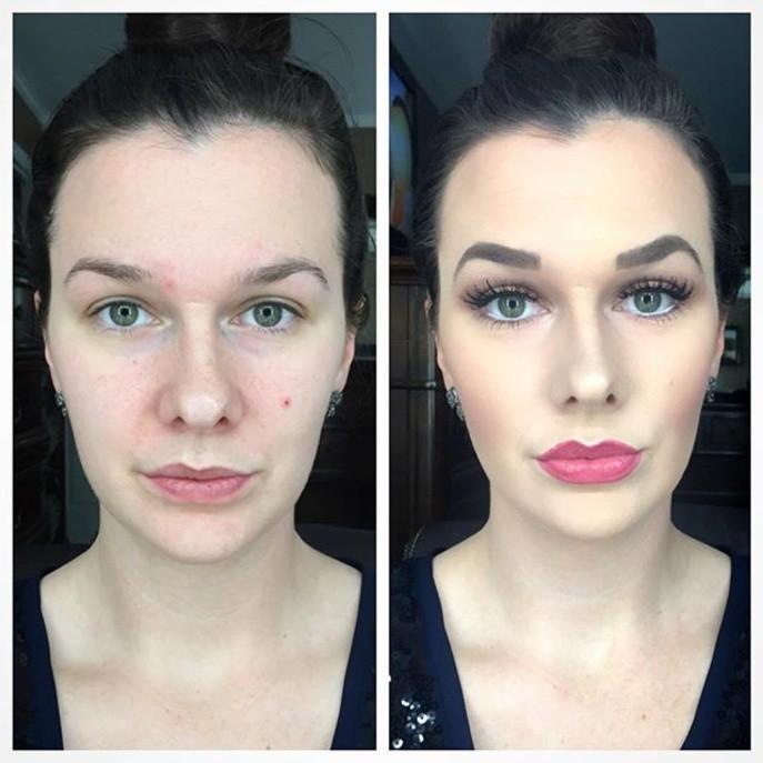 La transformation de makeupbybrooke