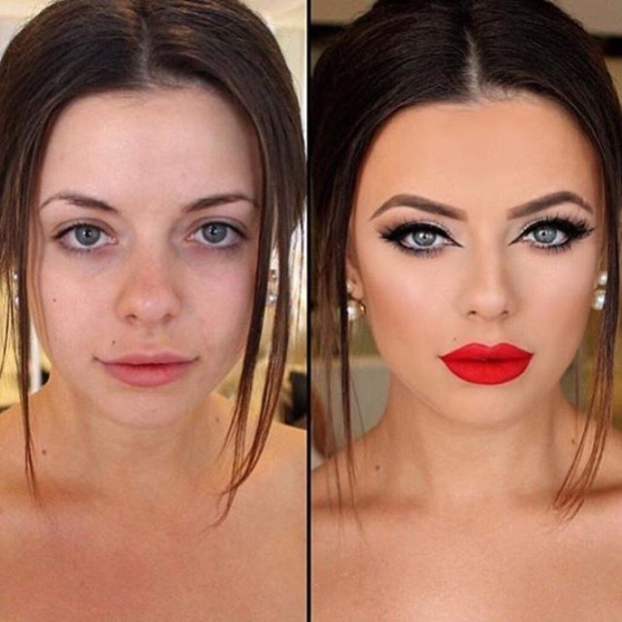 Le transformation signée makeupbybrenelly