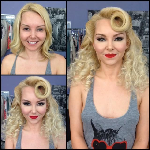 Femmes transformations maquillage (3)