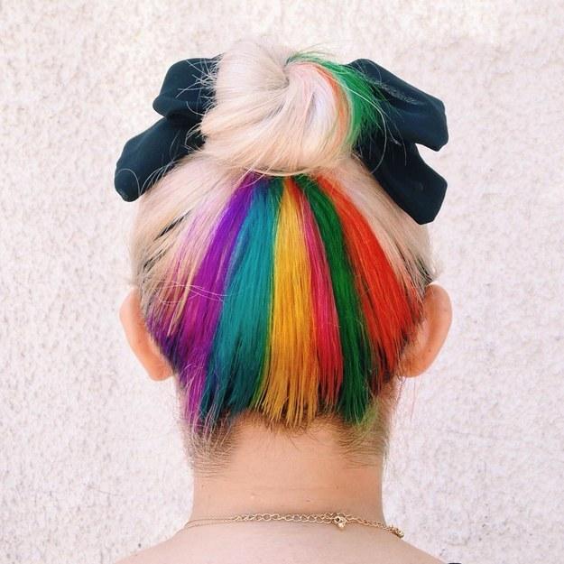 Rainbow Stripe Underlights