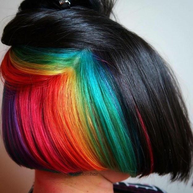 Hidden Neon Rainbow
