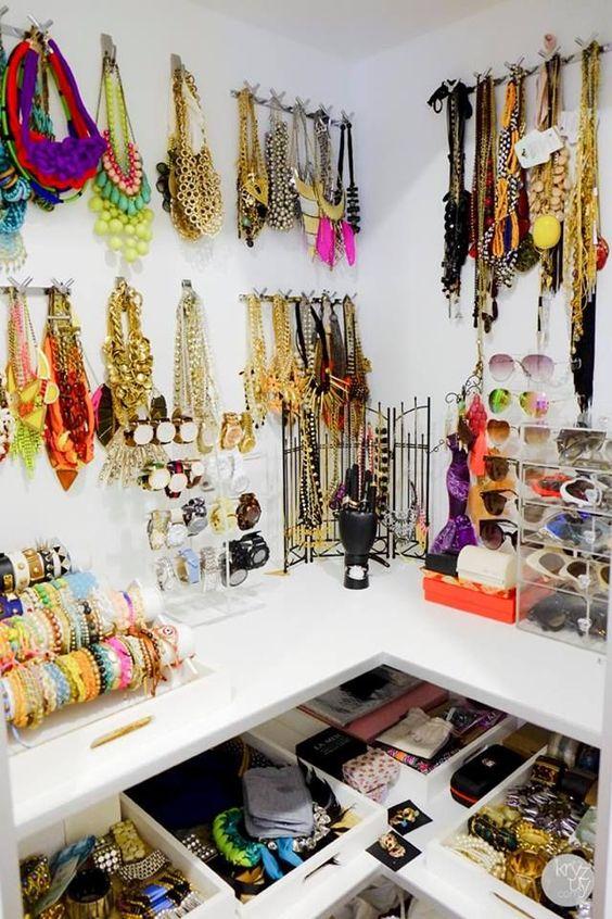 30 schöne Inspirationen zum Aufbewahren Ihrer Juwelen