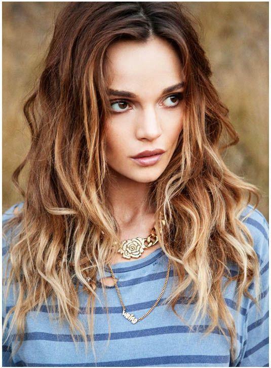 Coloration cheveux brun en blond