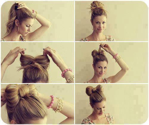 5 Coiffures Avec Un Noeud A Cheveux Astuces De Filles