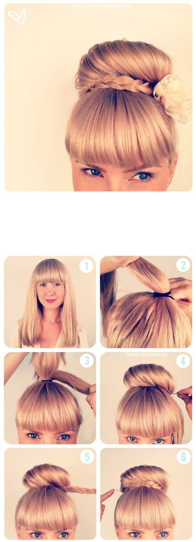 5 Tutos coiffures rapides pour chaque jour de la semaine - Les Éclaireuses: