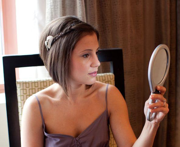 jolie coiffure toute simple: