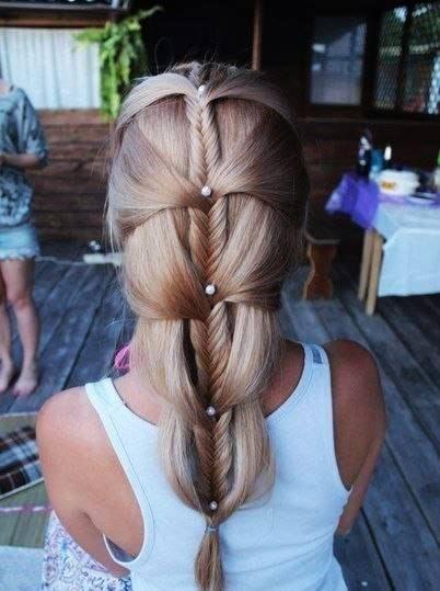 tresse épi #coiffure #tresse #cheveux: