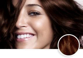 Choisir couleur cheveux pour brune