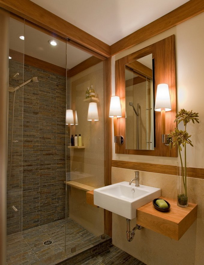 Les idées de salle de bain en bois plus étonnants qui vont attirer votre oeil