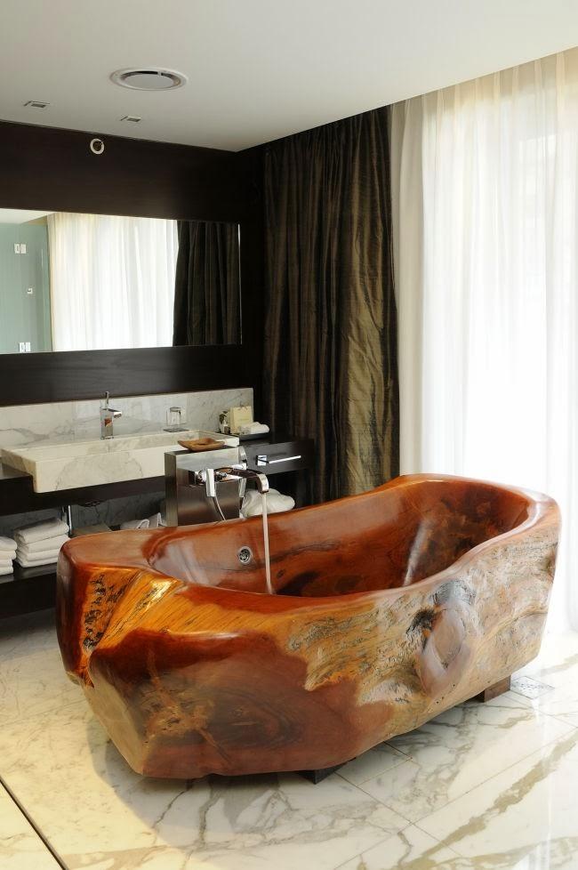 Le top 20 des plus belles salles de bains en bois | Astuces de filles