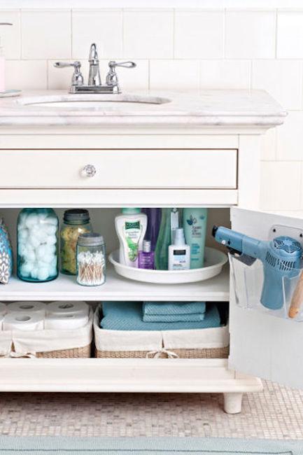 20 id es pour organiser sa salle de bain comme une pro astuces de filles page 6. Black Bedroom Furniture Sets. Home Design Ideas