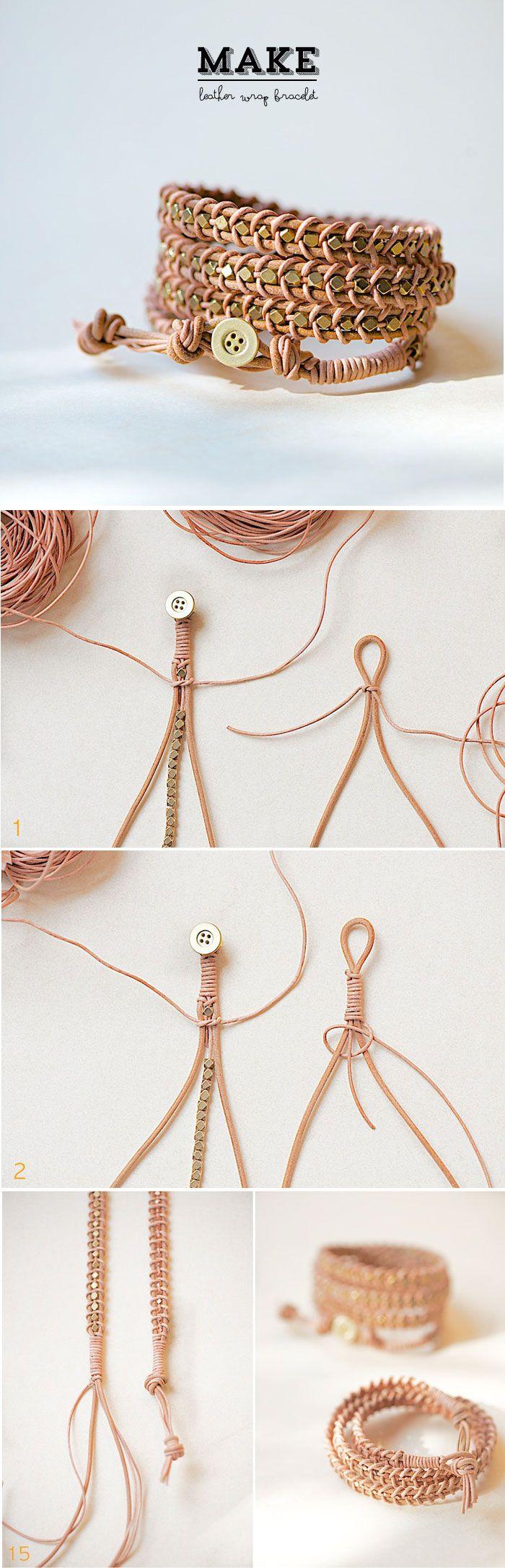 La Mercerie du Faubourg aime DIY bracelet !: